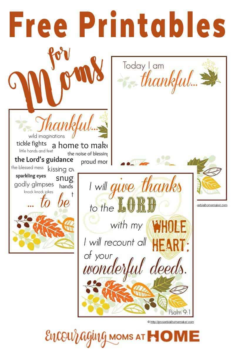 Do You Record What You Are Thankful For? Here Is A Beautiful (FREE)