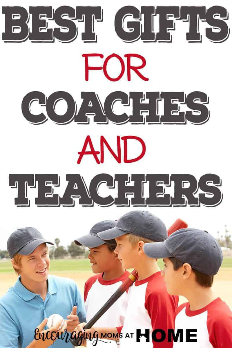 It's not too early to be thinking about gifts for that special coach or teacher.  Here are 15 ideas that will give you ideas that you can make or buy.