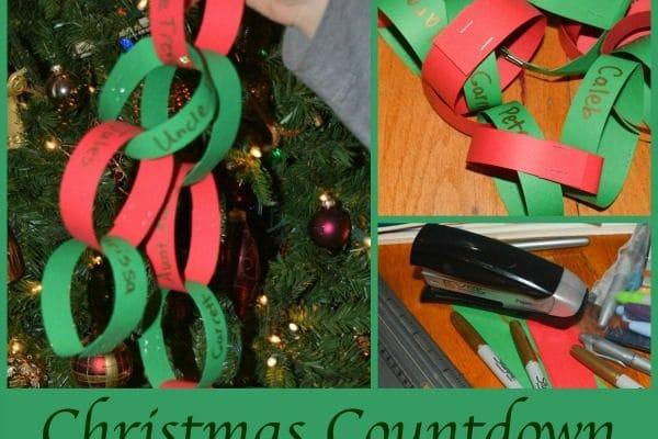 Making a Christmas Countdown Prayer Chain