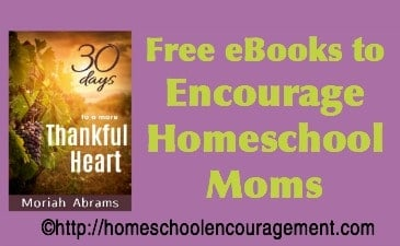 10 Awesome Free Kindle Books to Encourage Homeschool Moms