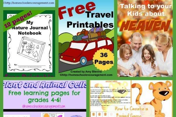 Our Top Ten Free Homeschool Printables in 2014
