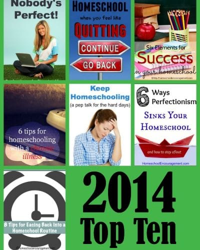 Top Ten Posts to Encourage Homeschool Moms from homeschool encouragement