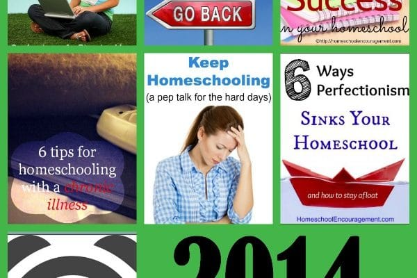 Top Ten Posts to Encourage Homeschool Moms in 2014