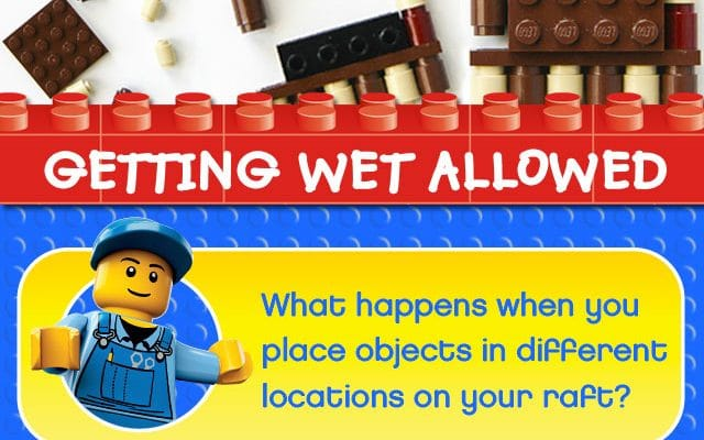 How to use LEGO Bricks to create Float or Sink Experiments LEGO Learning.