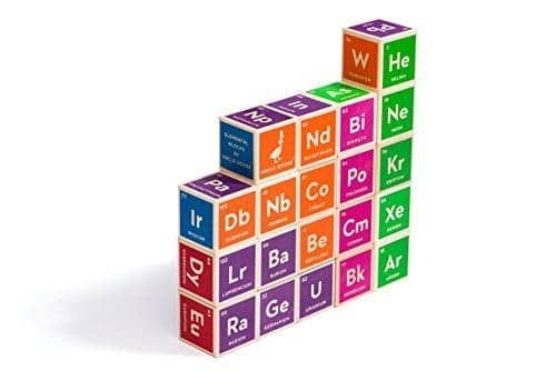 Learn the periodic table of the elements with fun resources uncle goose periodic table building blocks urtaz Gallery
