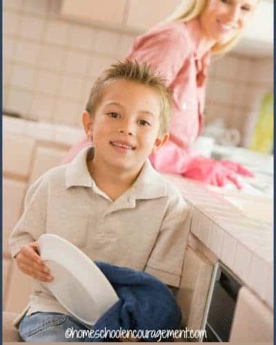 Teaching Life Skills: Kids and Chores | encouragingmomsathome.com