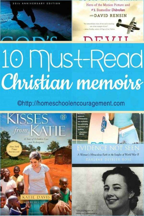 Looking for encouragement about how God can use anyone to accomplish His plan? Take a look at these 10 memoirs from modern Christian heroes to see how He used them.
