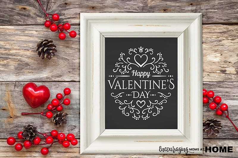 Free Valentine's Day Printable for framing and home decor