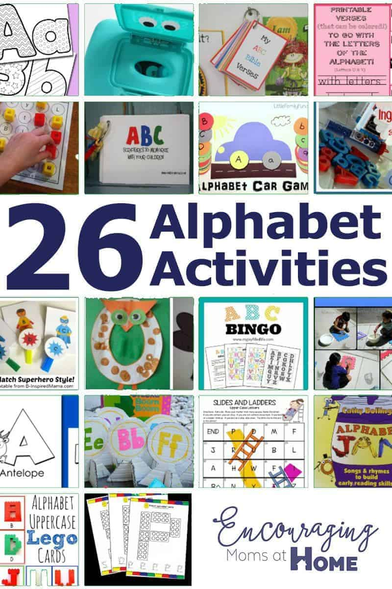 ABC Learning The Alphabet Printables Games And More