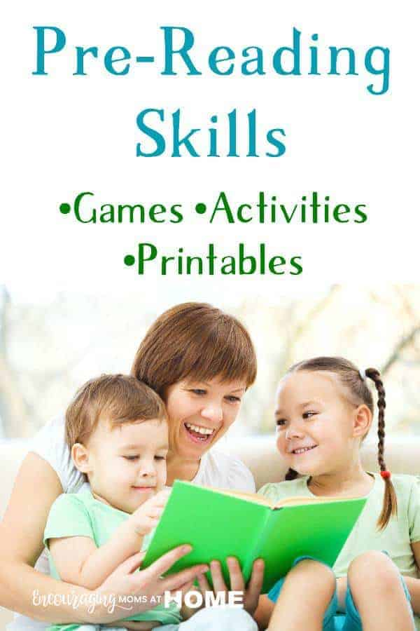 pre reading printables activities and games for kids. Black Bedroom Furniture Sets. Home Design Ideas