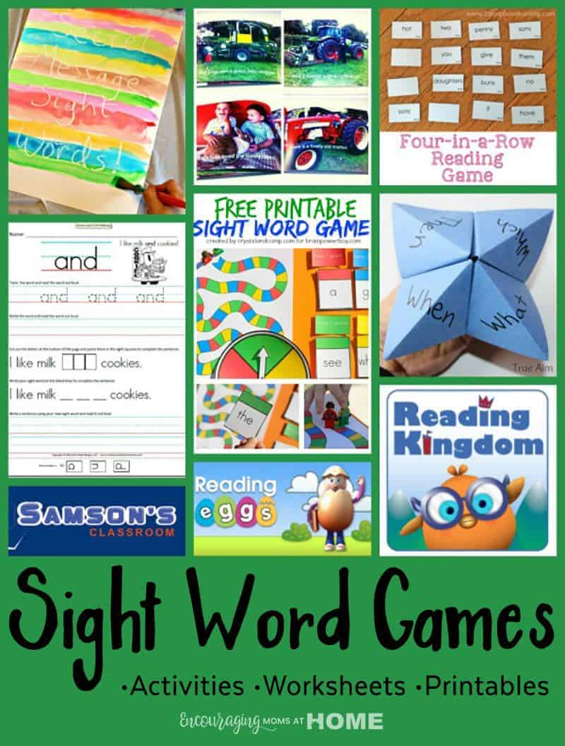 Phonics are fantastic, however, sometimes you need a something different to teach phonics. Sight Word Games, Worksheets, and Activities are a great way to teach reading to any student. Click over for a huge list of resources to bring sight word activities into your classroom.