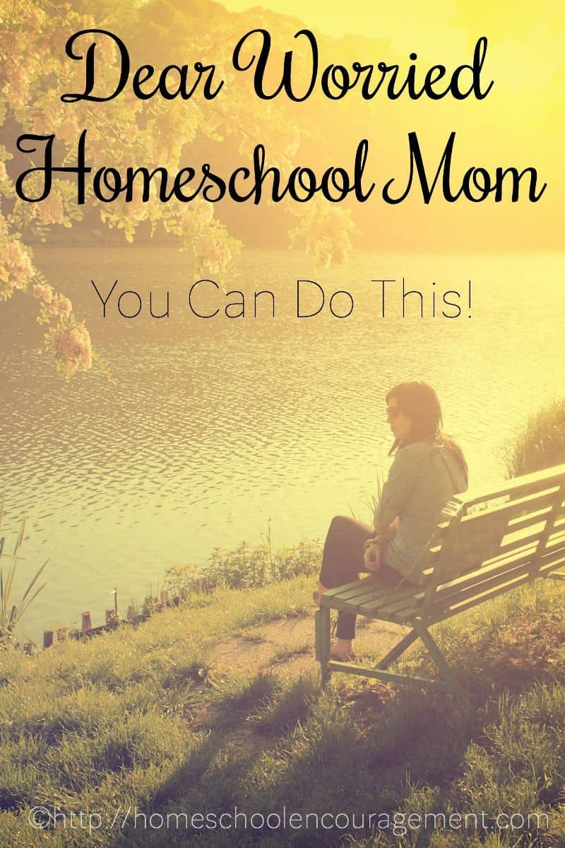 Do you find yourself worrying as a homeschool mom? Can I encourage you to keep pressing on with this homeschool thing. Keep doing your best to carry out God's calling on your life. Here are 4 steps I take when I need to let go off my worry. Let me encourage you that you can do this!