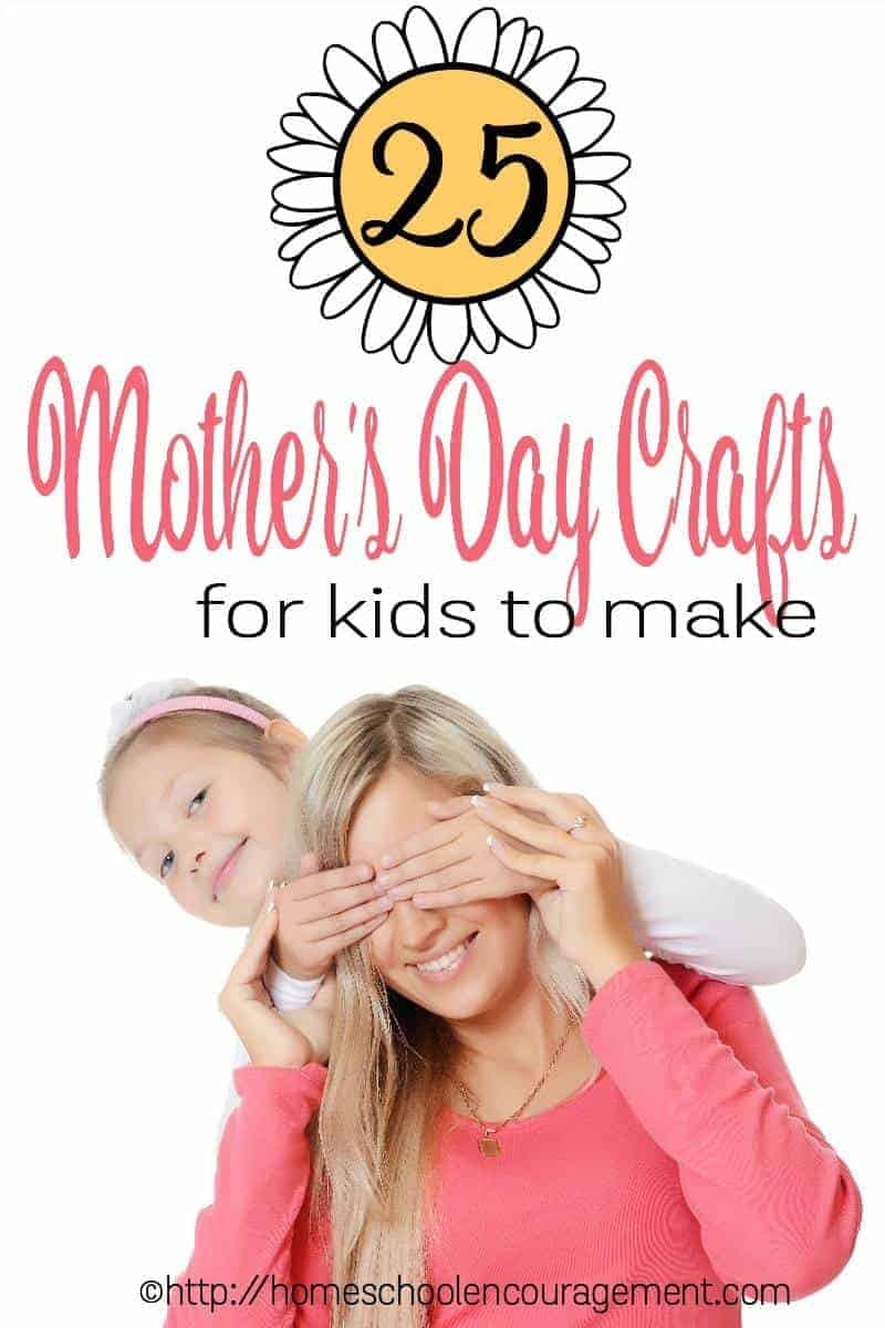 Looking for unique, handmade crafts for the special mom in your family?  Take a look at this list of 25 Awesome Beautiful Unique Mother's Day Crafts for Kids.