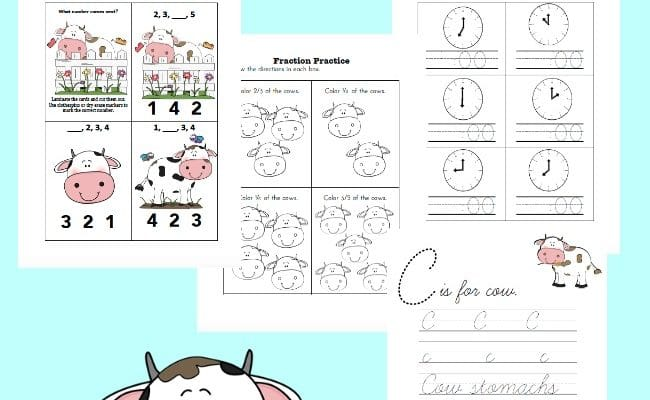 Celebrate Cow Appreciation Day: Unit Study and Free Printable