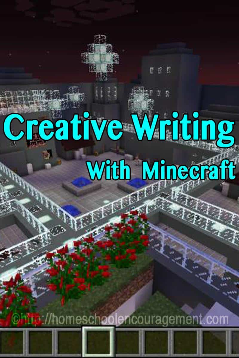 Does your child love Minecraft? And love to write creatively? Using Minecraft to help in the creative writing process will help your child be more descriptive as they walk through the place that their story takes place.