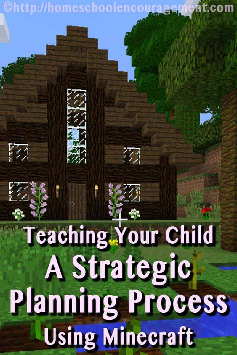 Teach your child how to use a strategic planning process for success using this fun Minecrafting adventure!