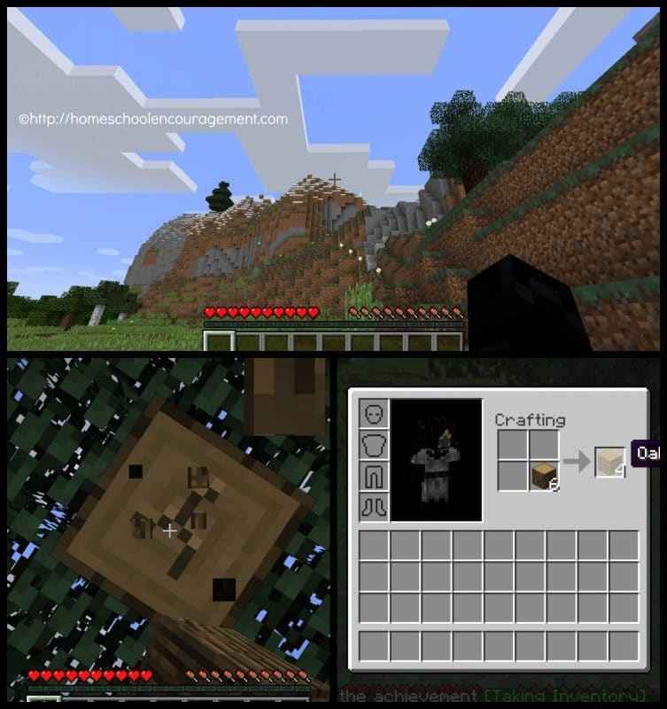 Teaching Being Prepared with Minecraft - Basics - 1