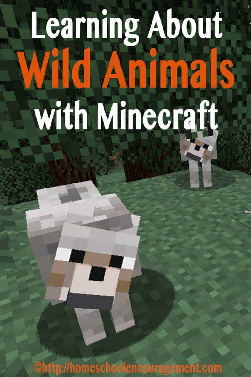 Learning about Wild Animals?  Love Minecraft?  Take a look at these ways to kick-off your learning with a crafting adventure.