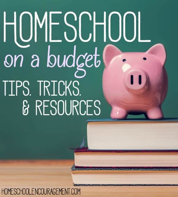 Homeschooling can quickly become quite expensive! But it doesn't have to be. Here are tips and tricks to help you homeschool on a budget.