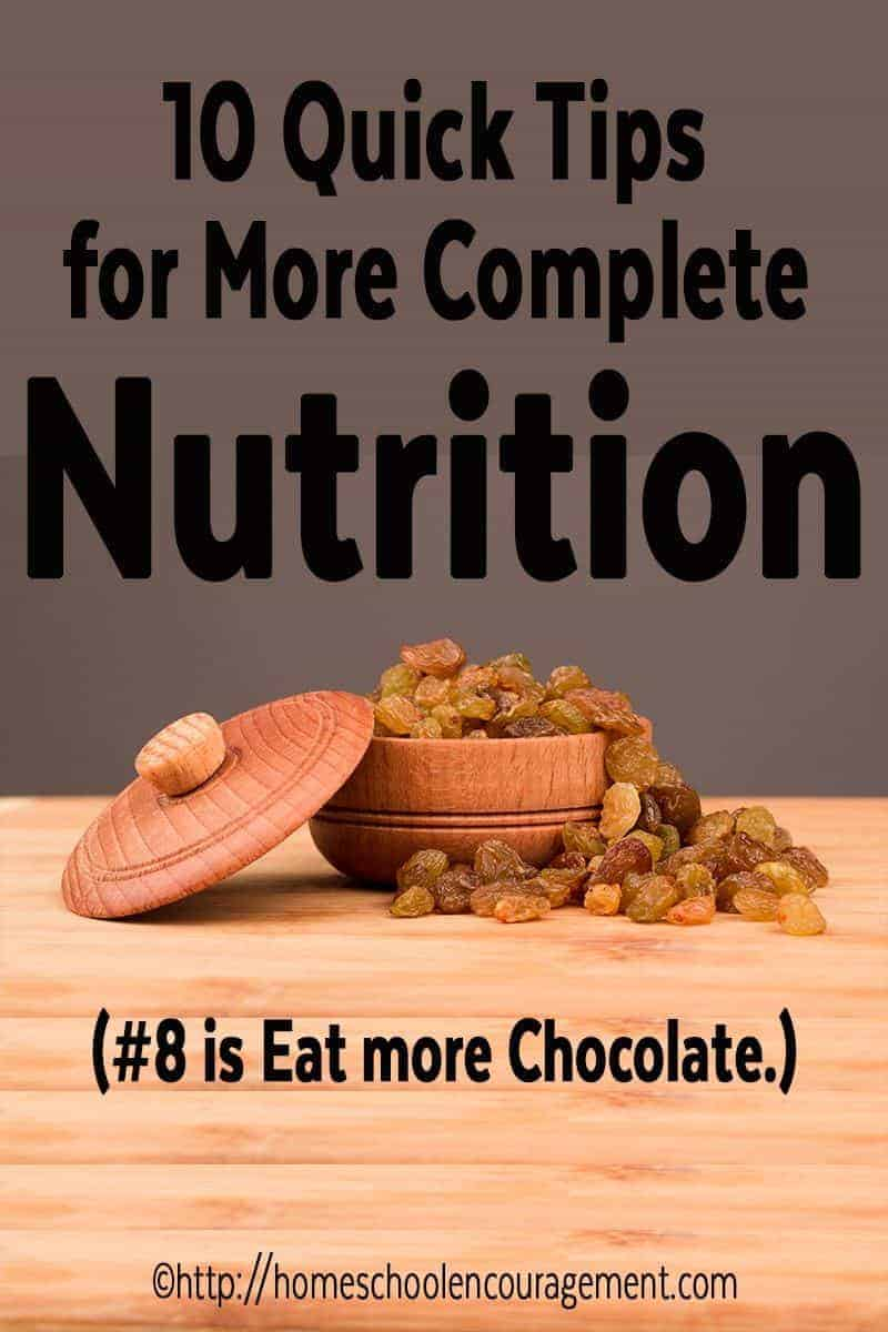 More Complete Nutrition