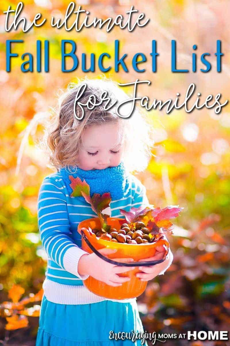 the ultimate fall bucket list for families