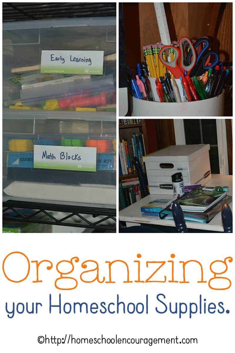 Best boxes and methods to organize your homeschool supplies, papers, and toys.