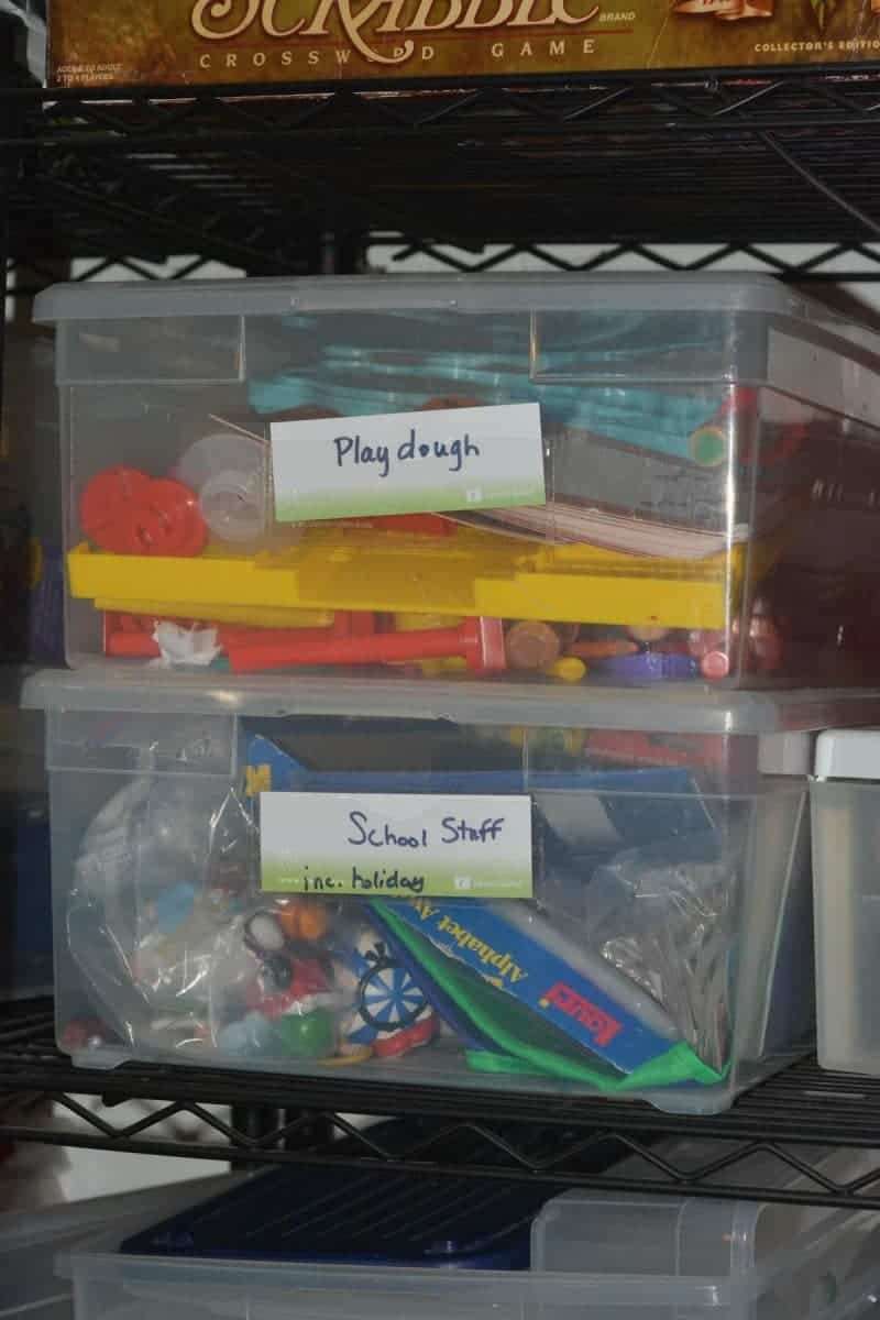 Perfect boxes to organize school supplies and papers.