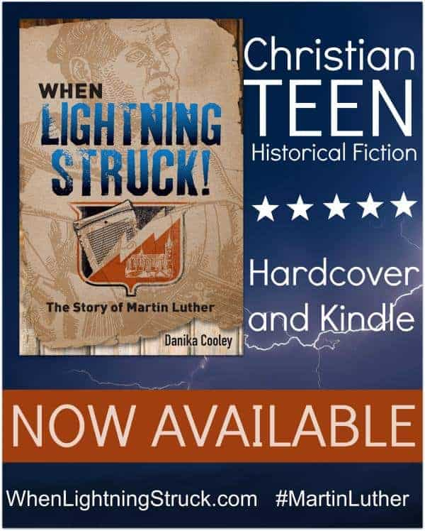 When Lightning Struck - the story of Martin Luther by Danika Cooley