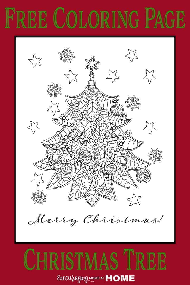Coloring pages for christmas tree - Beautiful Free Christmas Tree Coloring Page Unique And Gorgeous