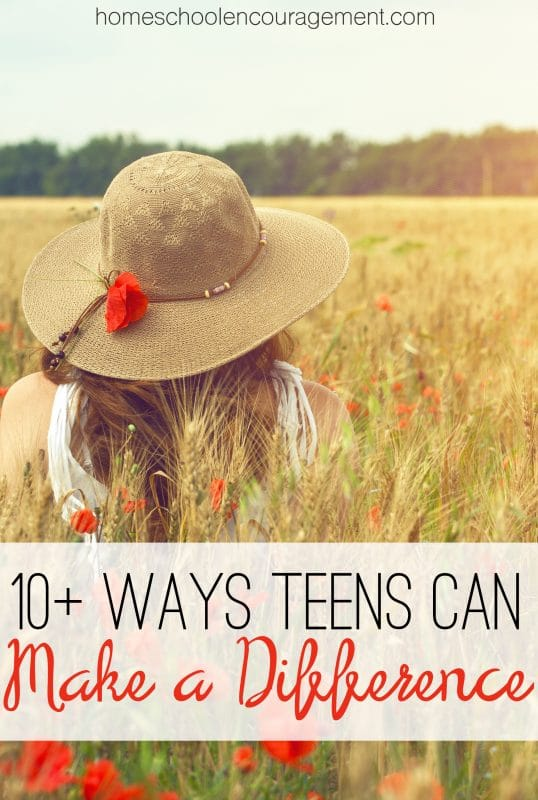 Ways Teens Can Make a Difference