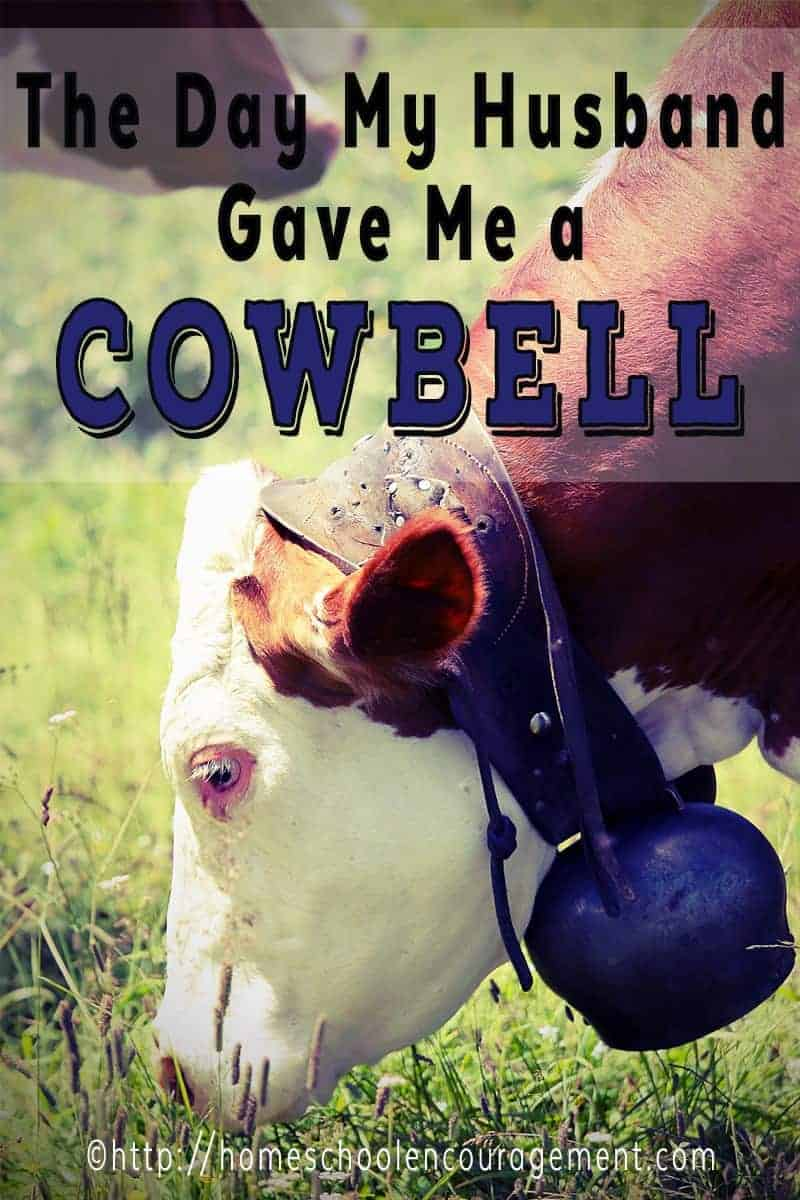 The Day My Husband Gave Me A Cowbell