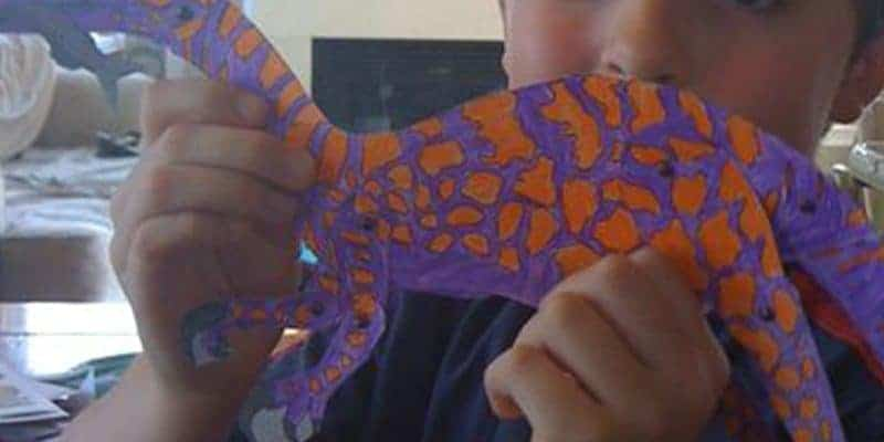 Dinosaurs on the Move - illustrated cut out dinosaur