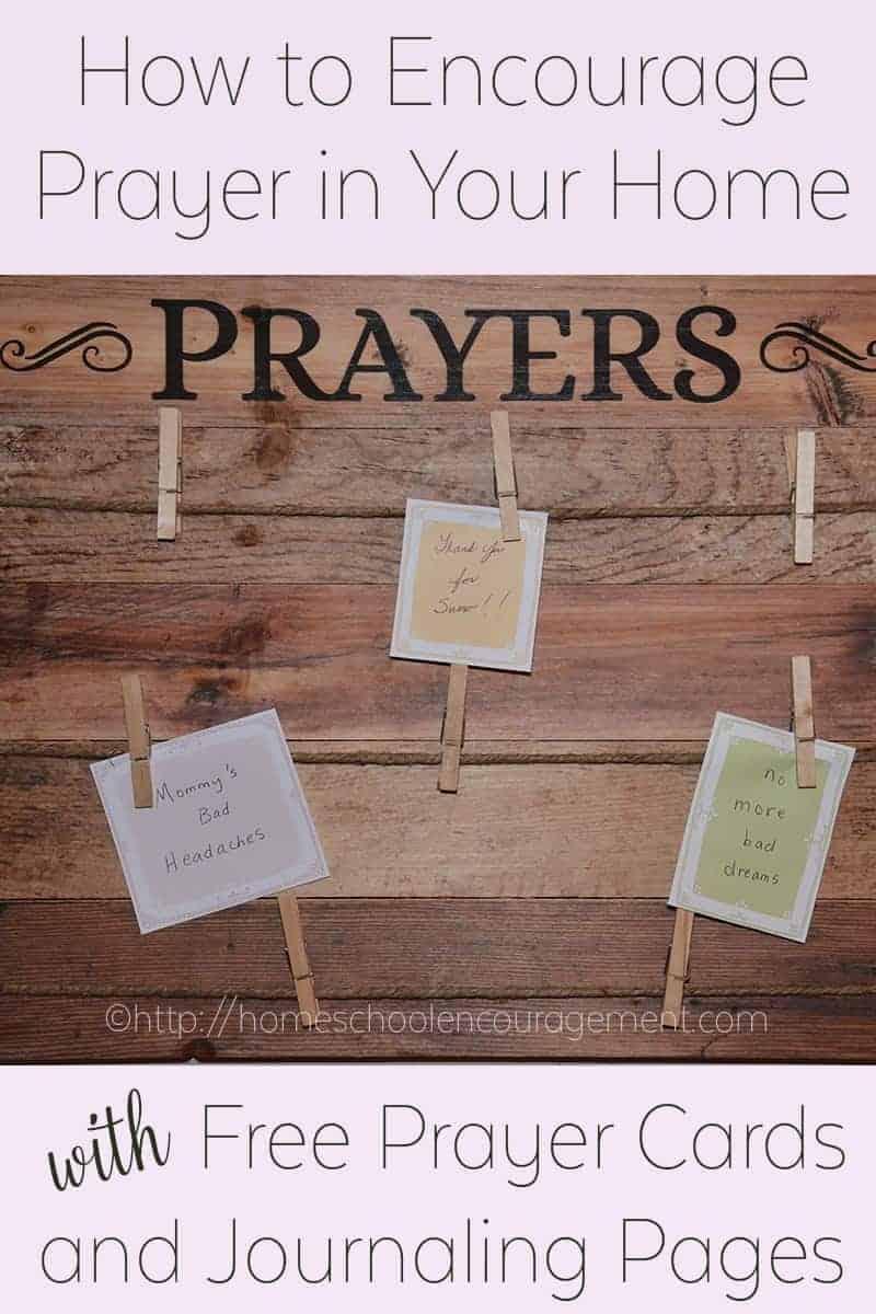 how to make prayer cards