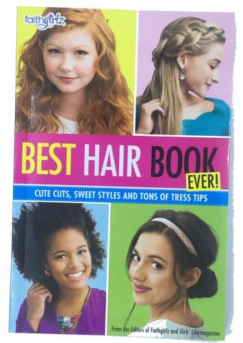 Best Hair Book for Tween Girls Party