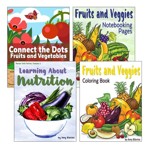 Learning About Nutrition Unit Study Set