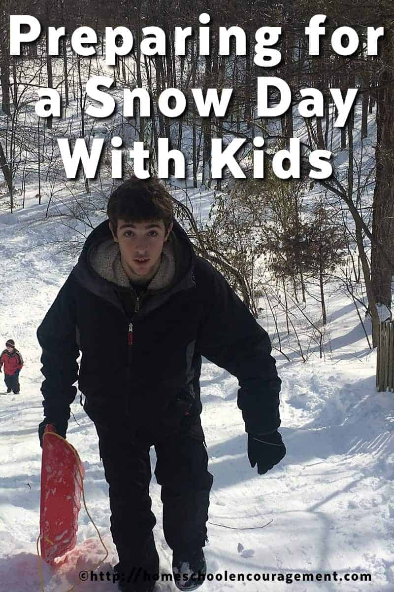 Preparing for a Snow Day with Kids