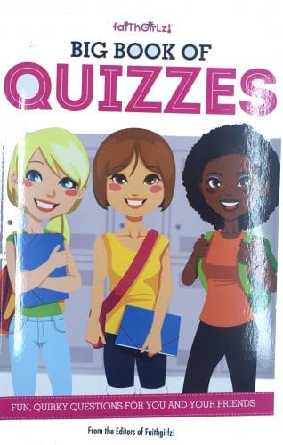 Big Book of Quizzes - Best Party for Tween Girls