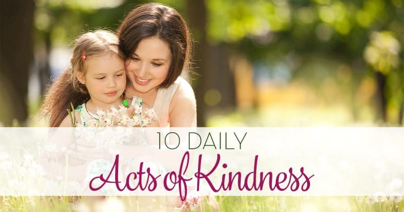 10 Daily Acts of Kindness FB