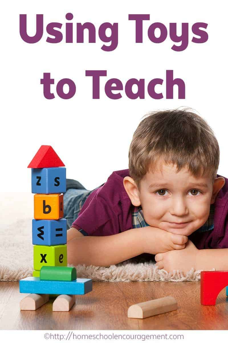 Playing to Learn, Using toys to teach. Teaching with toys.