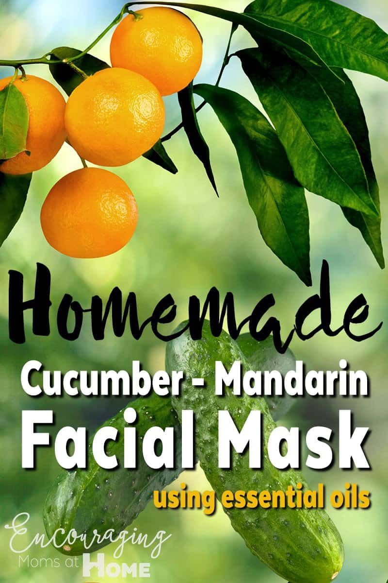 Cucumber Mandarin Facial Mask Recipe