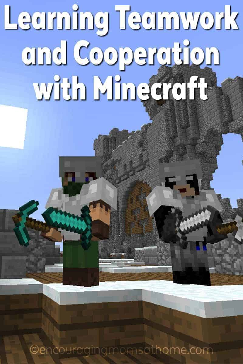 Learning Cooperation and Teamwork with Minecraft