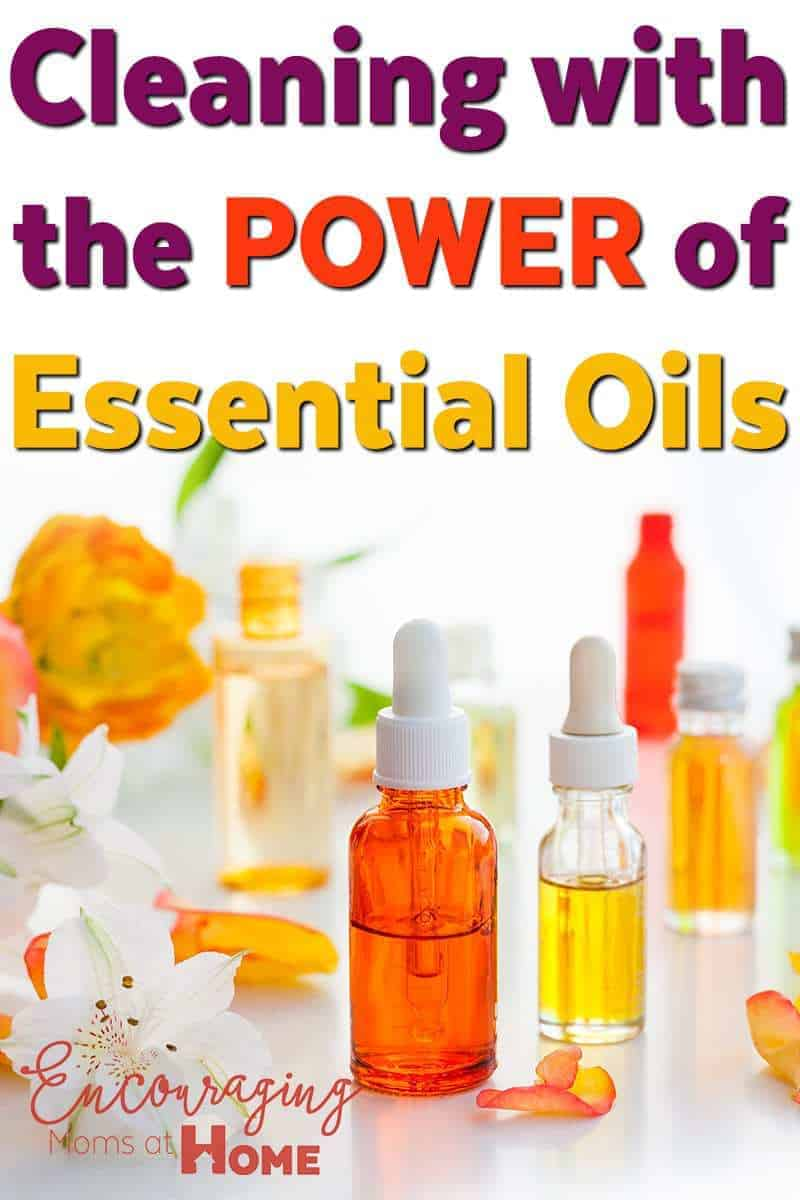 Cleaning With Essential Oils DIY recipes