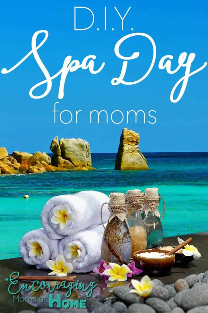 Do you need a little relaxation but can't get to the spa?  Here are tips for a DIY Spa Day just for you.  It's perfect for Mother's Day or any day of the year.