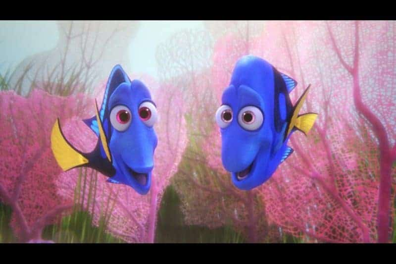 Finding Dory portrays a parent's devotion to her child so beautifully! Image: Dory's parents.
