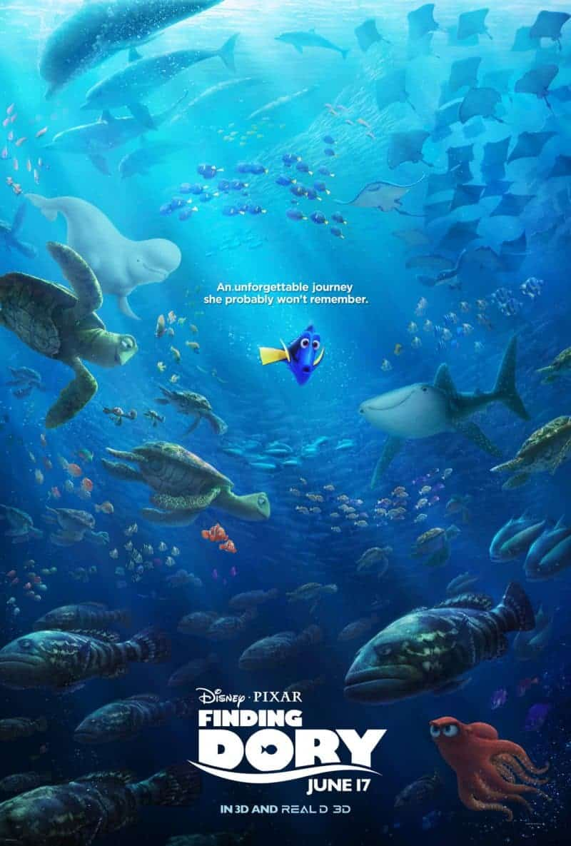 Review of Finding Dory by Disney•Pixar