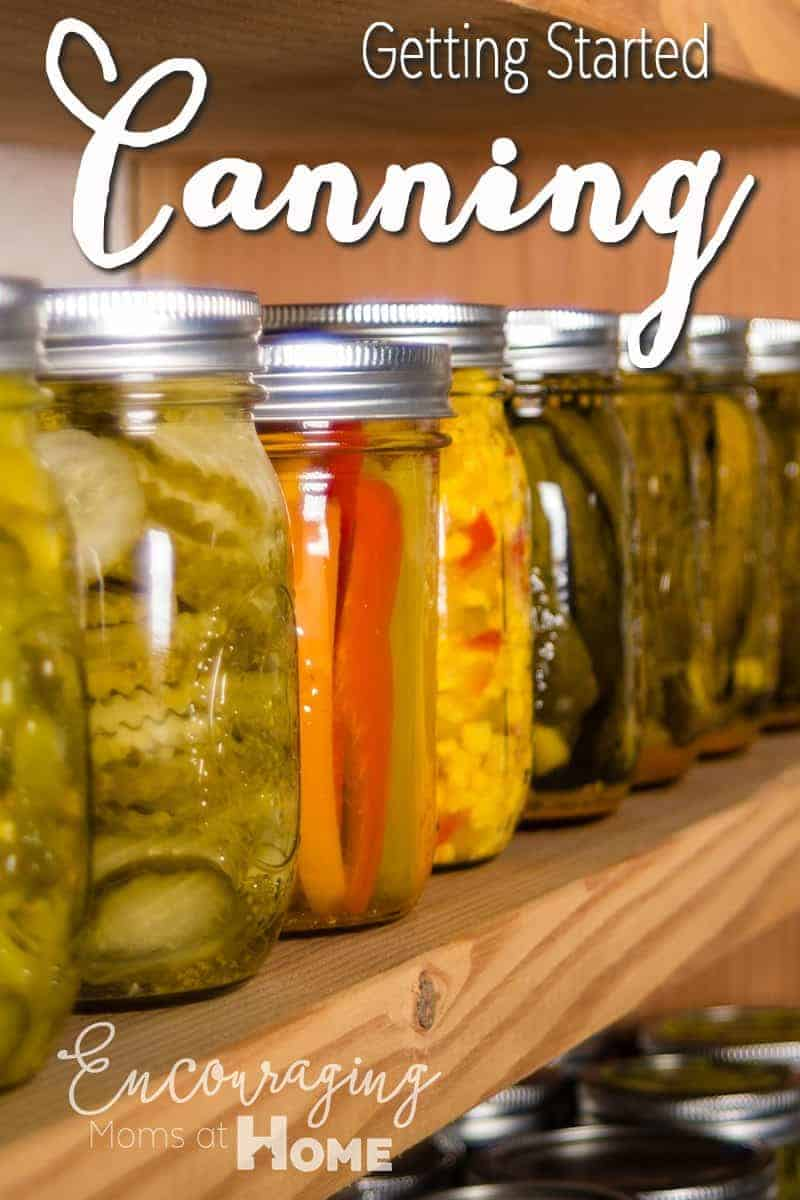 Canning for Food Preservation - Getting Started