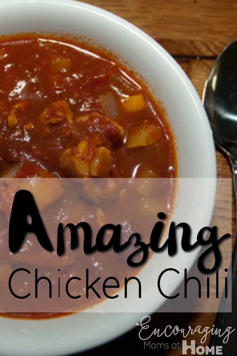 Chicken Chili Printable Recipe - Best EVER!