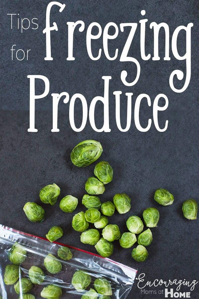 Freezing produce is a great way to enjoy fruits and vegetables year round and to avoid wasting food. Take a look at our tips on freezing. produce.