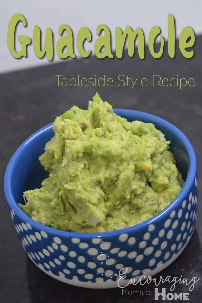 Love FRESH guacamole?  Try this recipe that tastes amazing and is filled with many of the vitamins and essential fatty acids your family needs.