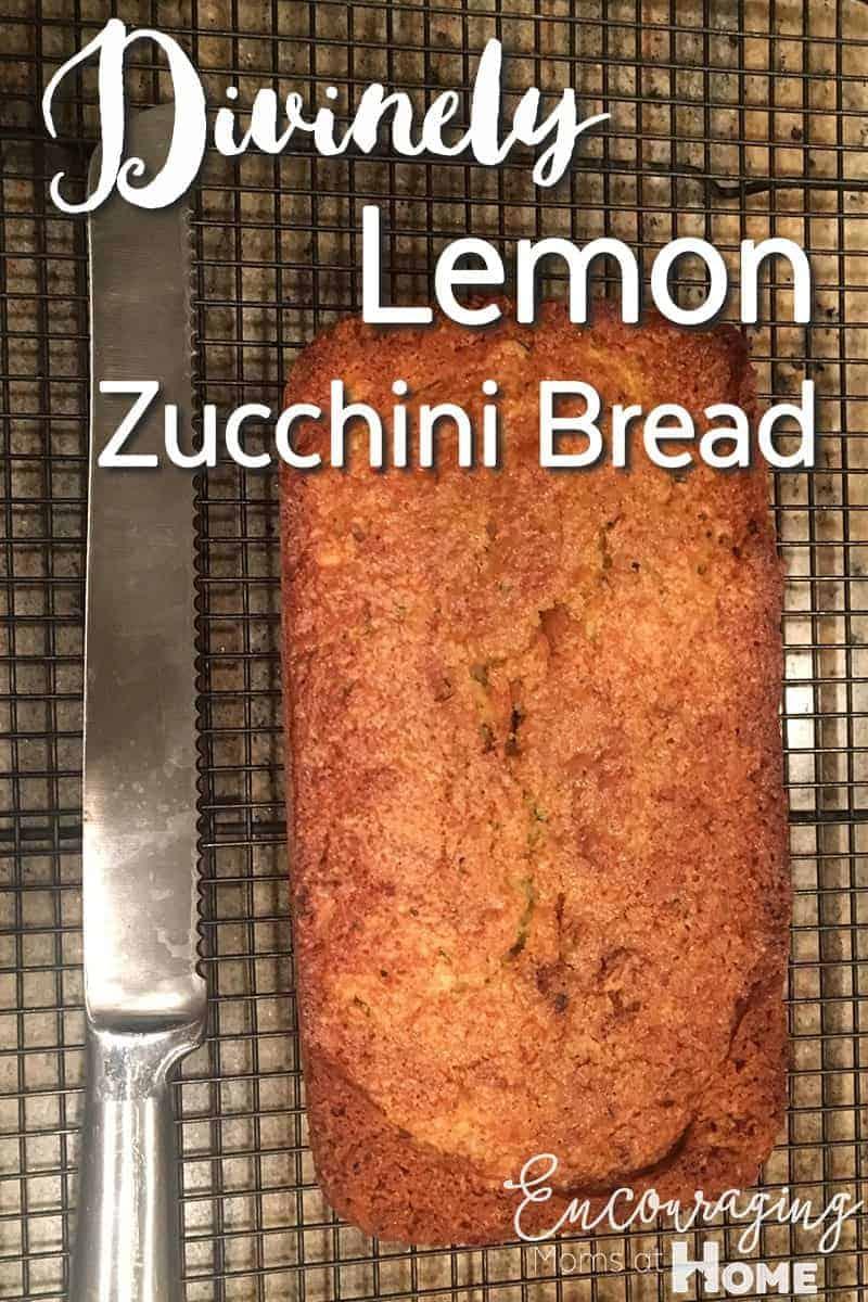 Lemon Zucchini Bread Recipe Printable